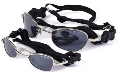 K9 Optix™ with Silver Frame & Smoke Lens