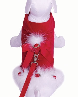 Doggie Claus Dog Dress - Cha-Cha Couture