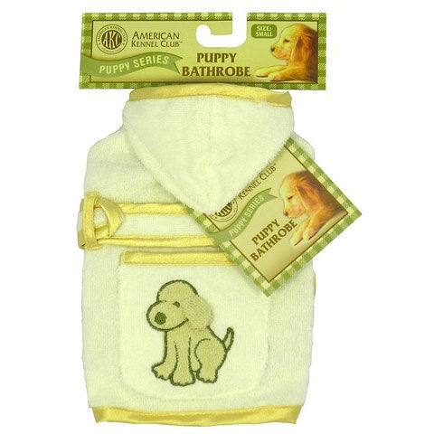 AKC Puppy Bathrobe