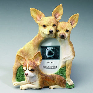 Chihuahua Picture Frame - E&S Imports