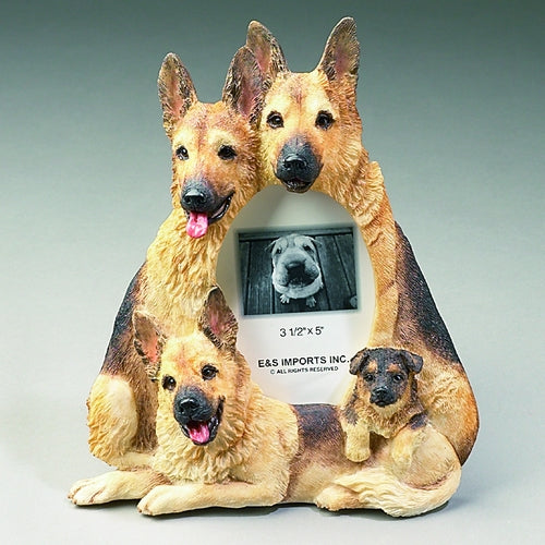 German Shepherd Picture Frame - E&S Imports