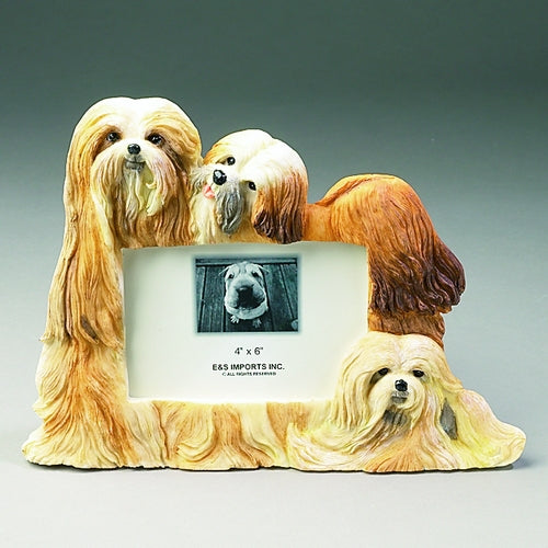 Lhasa Apso Picture Frame - E&S Imports