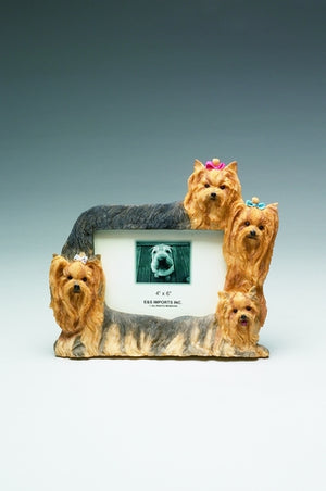 Yorkie Picture Frame - E&S Imports
