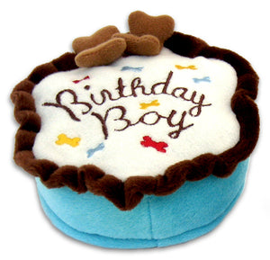 Birthday Boy Cake Toy - Haute Diggity Dog