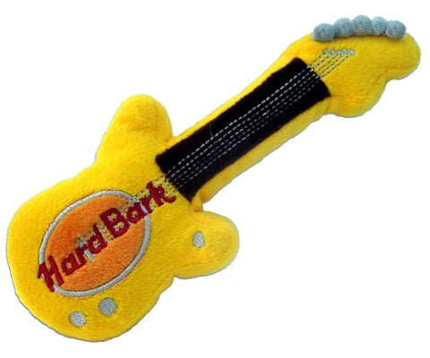 Hard Bark Guitar Dog Toy