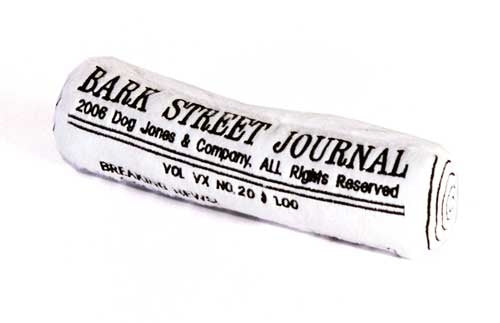 Bark Street Journal Dog Toy - Haute Diggity Dog