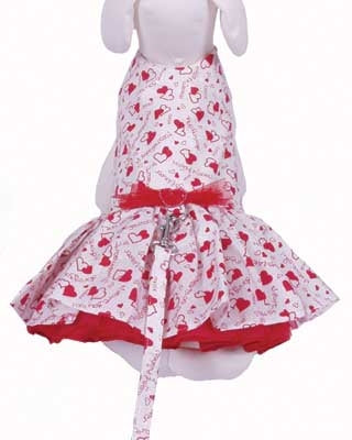 Hugs and Kisses Harness Dress - Cha-Cha Couture