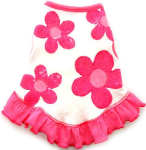 Crazy Daisies Sundress - Pink - I See Spot