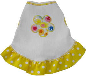 Yellow Miss Sixties Dress - I See Spot