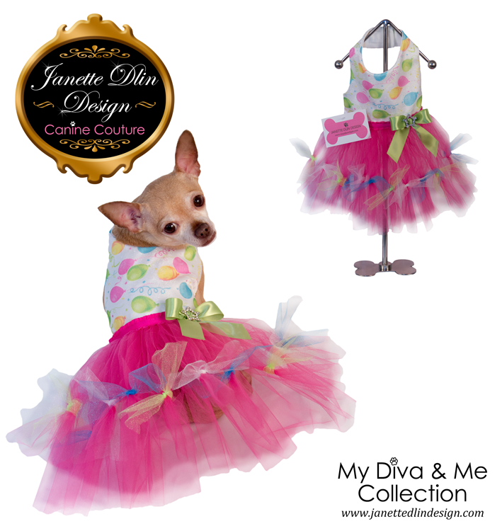 Birthday Girl Dress - Janette Dlin Design