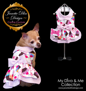 Cupcake Princess Dress - Janette Dlin Design