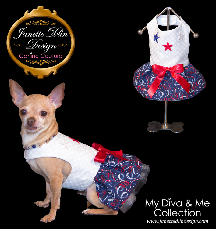 Fourth of July Dress - Janette Dlin Design