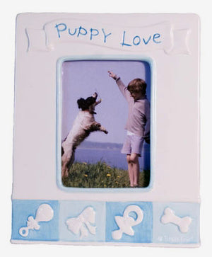 Puppy's First Love Frame - Boy