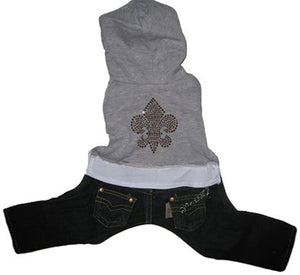 Fleur Dy Lys Hooded Jumper - Dog Jumper - Monkey Daze