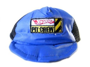 Blue Hot Wheels Pit Crew Hat - Dog Hat - Monkey Daze