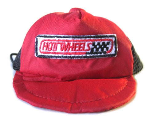 Red Hot Wheels Pit Crew Hat