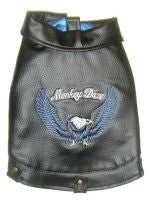 Motorcycle Vest - Blue - Monkey Daze