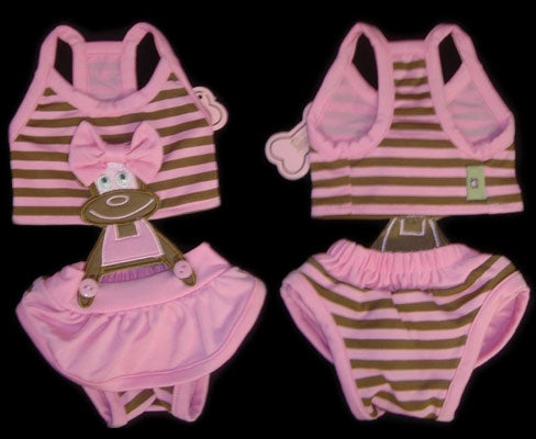 Pink Monkey Bathing Suit - Monkey Daze