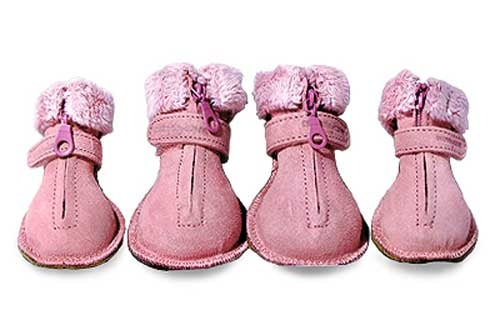 Dog Shoes - Pooch Boots - Pink - Monkey Daze