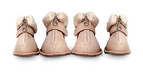 Dog Shoes - Pooch Boots - Tan