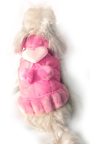 Mink Dog Coat - Doggie Designer
