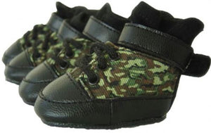 Camo Dog Sneakers - Puppe Love