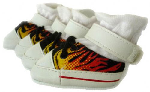 Flaming Dog Sneakers - Puppe Love