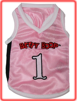 Betty Boop Pink Jersey - Betty Boop Dog Clothing