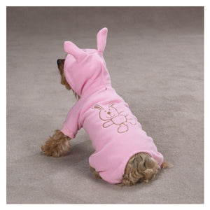 Snuggle Bear Casual Canine Animal Lounger - Pink