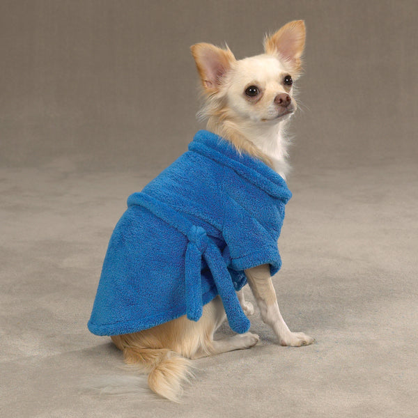 Casual Canine Cozy Robe - Blue