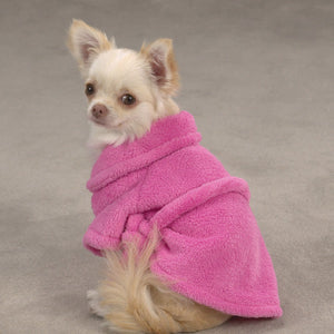Casual Canine Cozy Robe - Pink