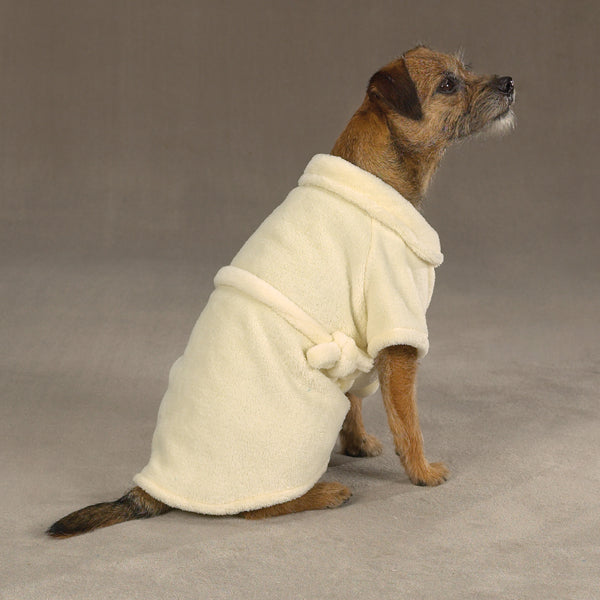 Casual Canine Cozy Robe - Yellow