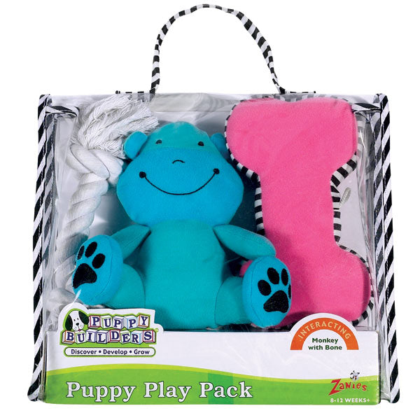 Puppy Play Pack - Monkey with Bone