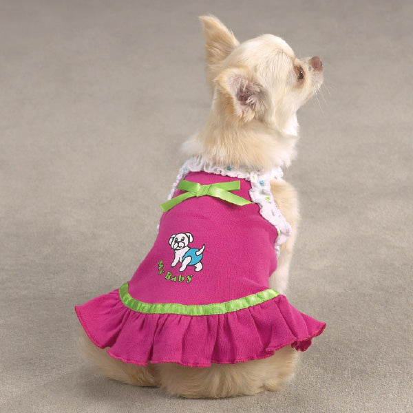 My Baby Solid Dog Dress