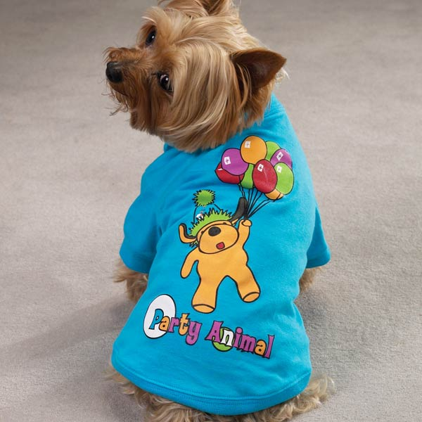 Casual Canine Party Animal Tee
