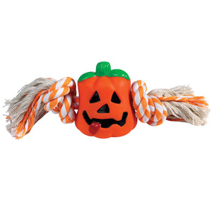 Zanies Hairy Scary Toys - Pumpkin
