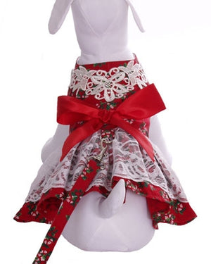 Peppermint Gal Dog Dress - Cha-Cha Couture