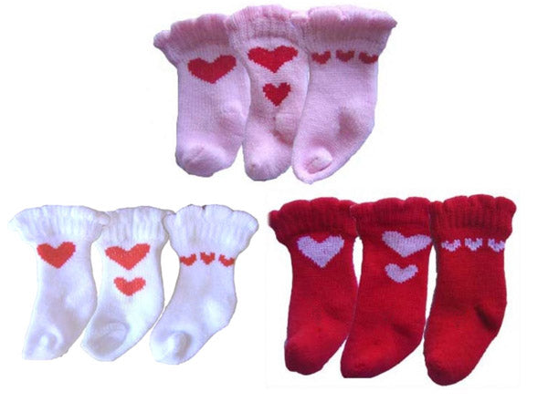 Heart Dog Socks - Puppe Love