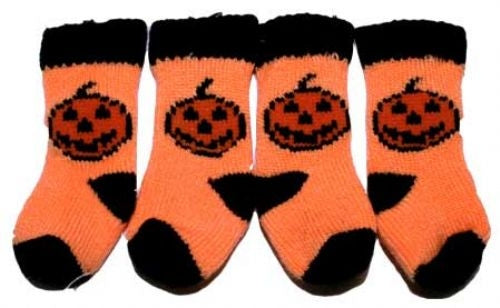 Pumpkin Dog Socks - Puppe Love