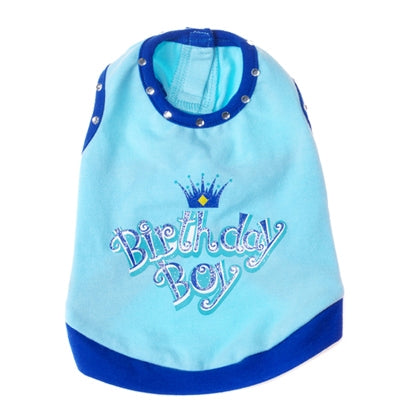 Birthday Boy Tank Top for Dogs
