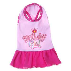 Birthday Girl Dress for Dogs