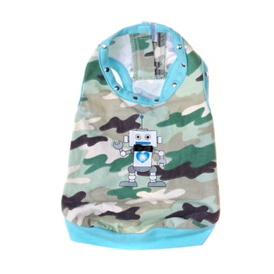 Robot Tank Top - Pooch Outfitters