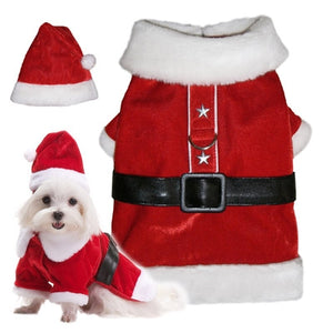 Santa Paws Coat - Pooch Outfitters