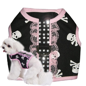 Girls Skull Harness Top - Pooch Outfitters