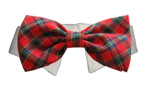 X'Mas Bow Tie - Dog Bow Tie - Pooch Outfitters