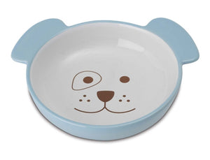 Here Doggy Dog Bowl - Blue - PetRageous