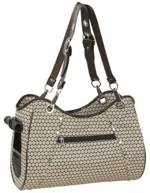 Genevieve Pet Carrier by PETote - Noir Dots