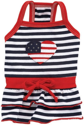 Love, American Style Dog Dress - Ruff Ruff Couture