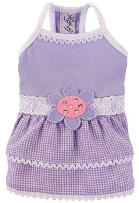 Sunshine Lilac Dog Dress - Ruff Ruff Couture