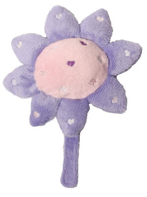 Lilac Sunshine Sunflower Plush Dog Toy